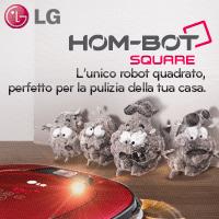 LG_HOM-BOT: un robot per le pulizie