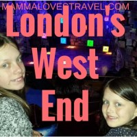 London West End With Kids