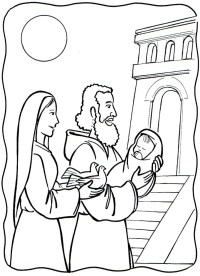 Disegni Festa della Candelora per asilo - Mamme Magazine