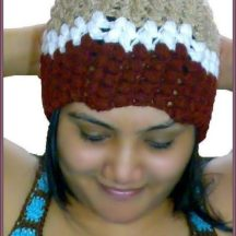 Designer Crochet Bubble Beanie