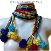 Hippie Chic Crochet Scarf