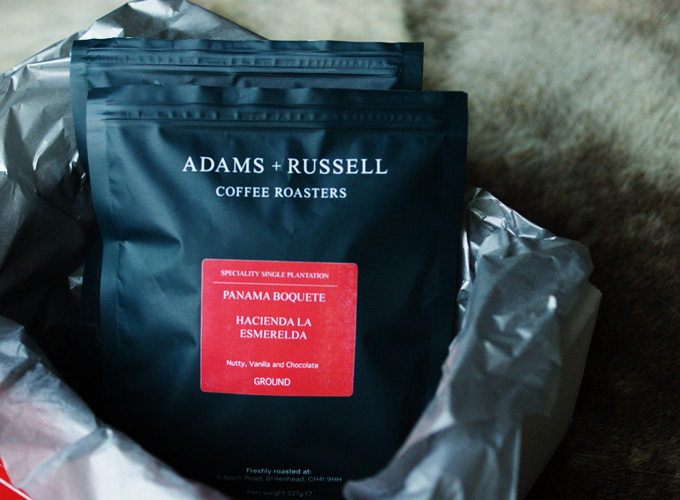 adams and russell coffee roasters