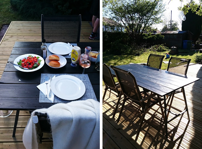 How to build a DIY garden table for less than £20