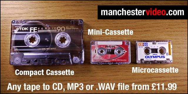 Compact micro and mini cassette