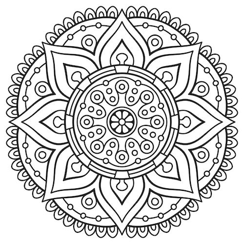 Mandala Coloring Pages - Mandalas For The Soul
