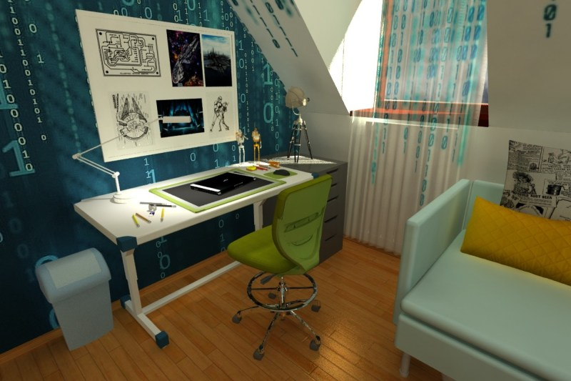 Large Of Sci Fi Bedroom
