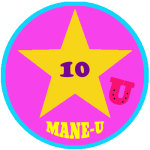 Mane-U Badge Gold Star 10 Points - How is your horse IQ?