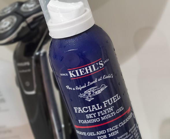kiehls thick foam bottle 21 Kiehls Facial Fuel Sky Flyin Foaming Multi Gel