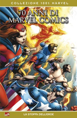 70 anni di marvel comics collezione 100 marvel recensione