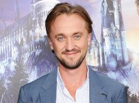 """UNIVERSAL CITY, CALIFORNIA - APRIL 05:  Actor Tom Felton attends the opening of """"The Wizarding World of Harry Potter"""" at Universal Studios Hollywood on April 5, 2016 in Universal City, California.  (Photo by Jason LaVeris/FilmMagic)"""