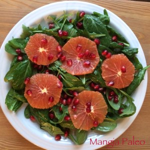 orange spinach salad