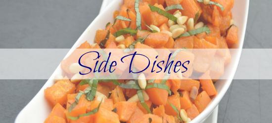 side dishes header mangia paleo