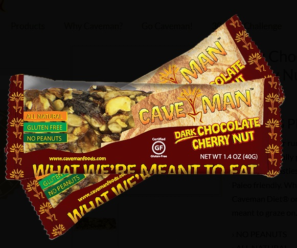 Caveman Bar Website : That s not paleo mangia