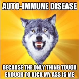 auto immune meme