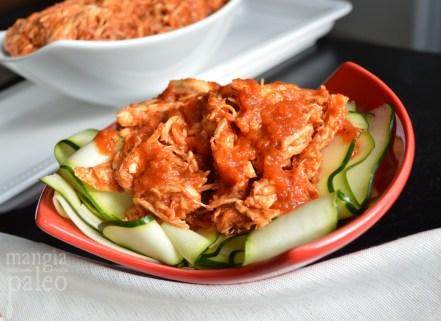 slow cooker chicken ragu zucchini pasta mangia paleo