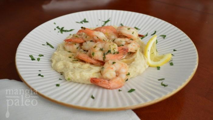 paleo shrimp scampi - cauliflower recipes