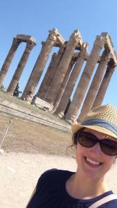 Temple of Zeus selfie