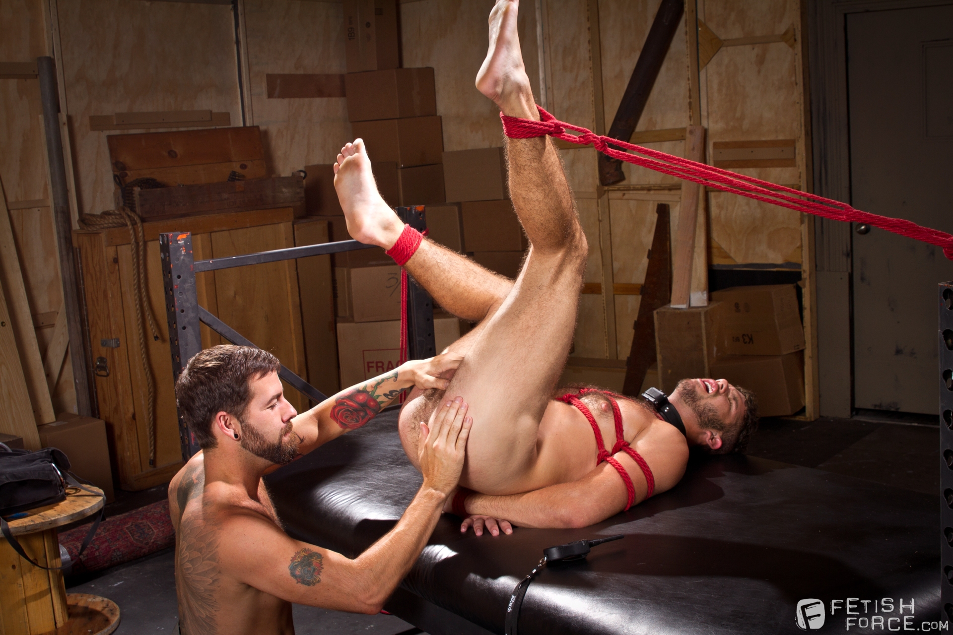 Gay male bdsm spank