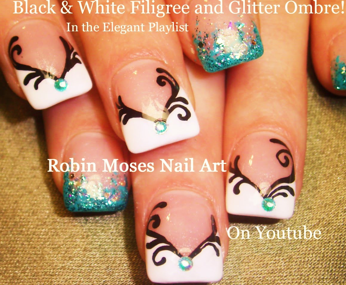 Try This Easy Teal Ombre Nail Design That Will Have Your