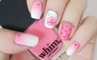 Show Off Your Feminine Side With This Pretty Nail Design!