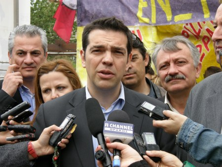 Syriza-leder Alexis Tsipras. Foto: Joanna/Flickr