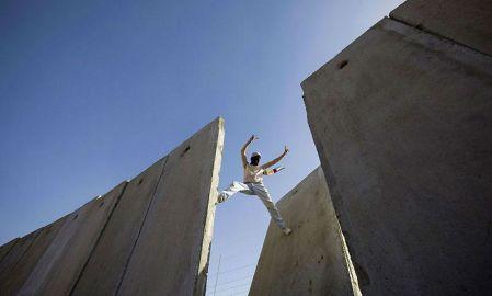 Muren på Vestbredden. Foto: Wall in Palestine
