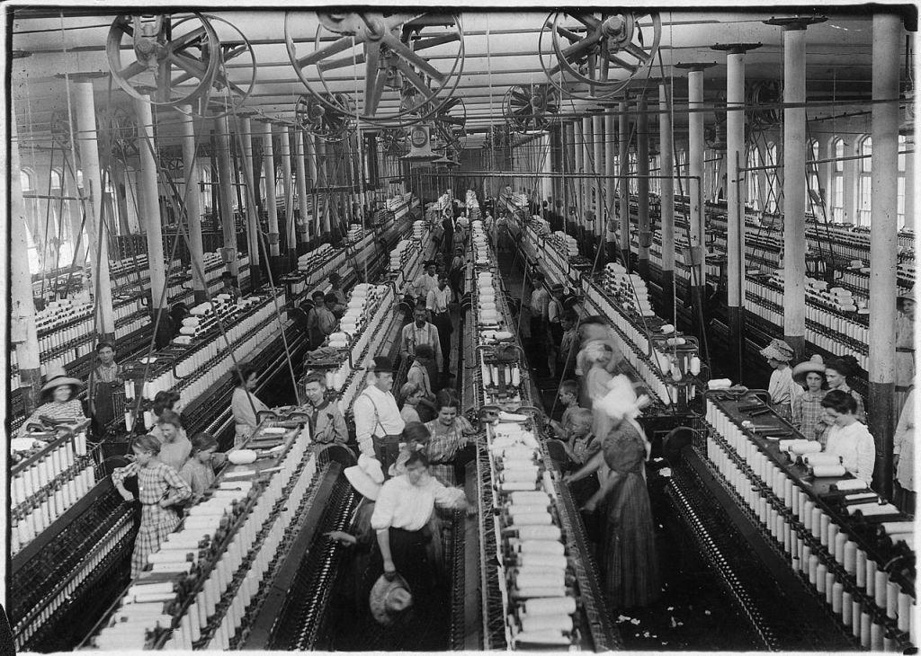Magnolia Cotton Mills. Wikipedia Commons