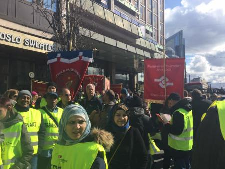 Fagbevegelsen spiller en avgjørende rolle, hevder artikkelforfatteren. Foto: Fellesforbundets facebookside
