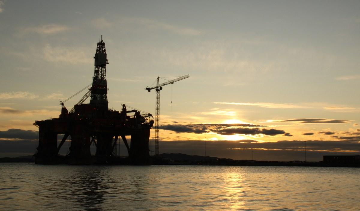 Oppblåste oljetall