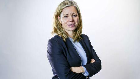 Aftenpostens politiske redaktør Trine Eilertsen. Foto: Stein Bjørge / Aftenposten