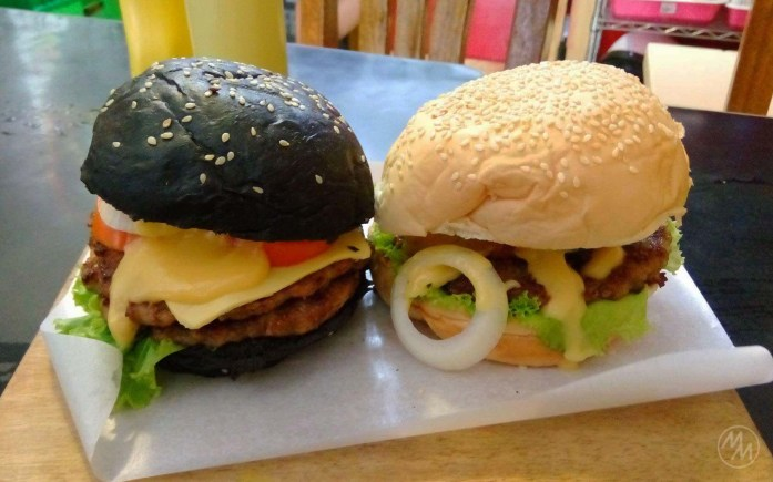 Look at the difference -- the black buns vs the regular ones.