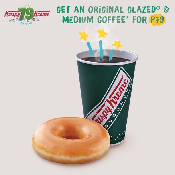 (Photo from Krispy Kreme Philippines (Official) Facebook page)