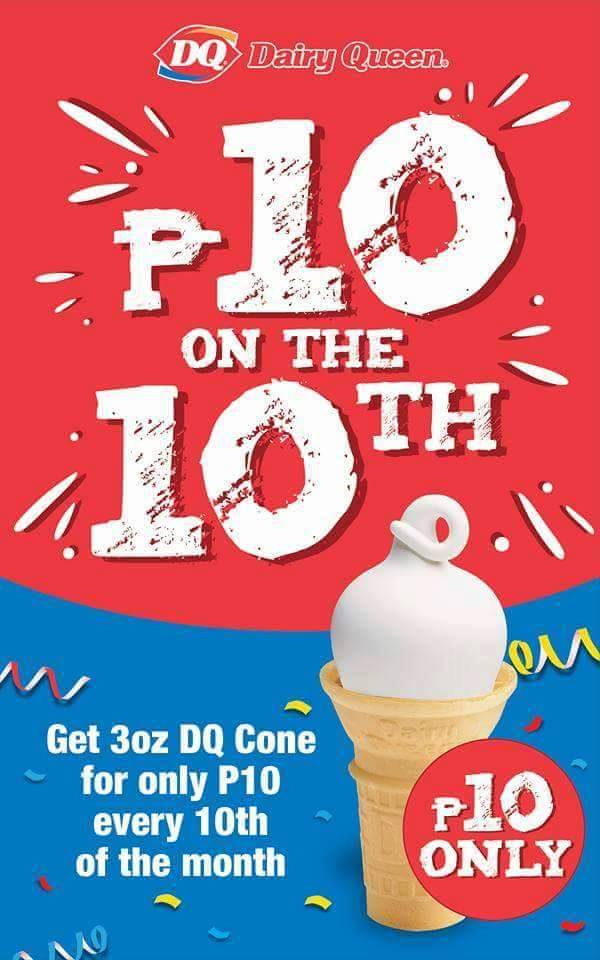 (Photo from Dairy Queen PH's Facebook page)