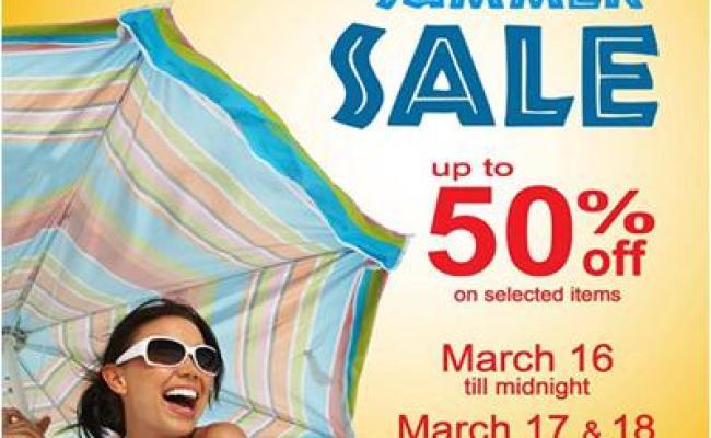 Robinsons Malls Summer Sale March 16 18 2012 Manila