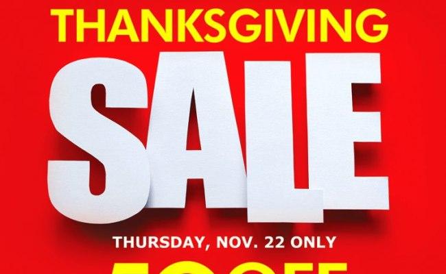 Metro Department Store Supermarket Thanksgiving Sale