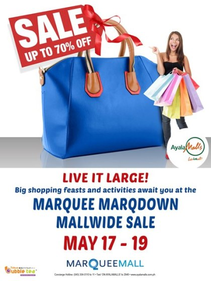Marquee Mall Marqdown Sale May 2013