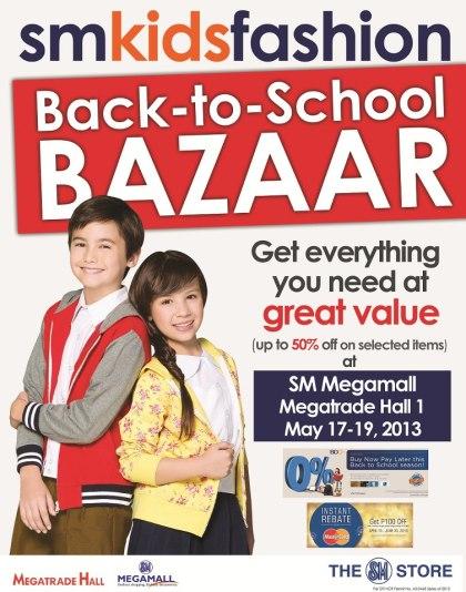 SM Kids Fashion Back-to-School Bazaar @ SM Megatrade Hall May 2013