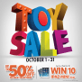 Metro Department Store Toy Sale October 2014 Manila On