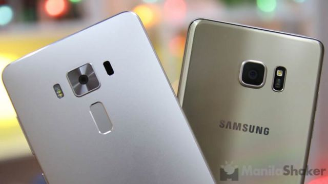 Asus Zenfone 3 Deluxe Vs Samsung Galaxy Note 7 Comparison