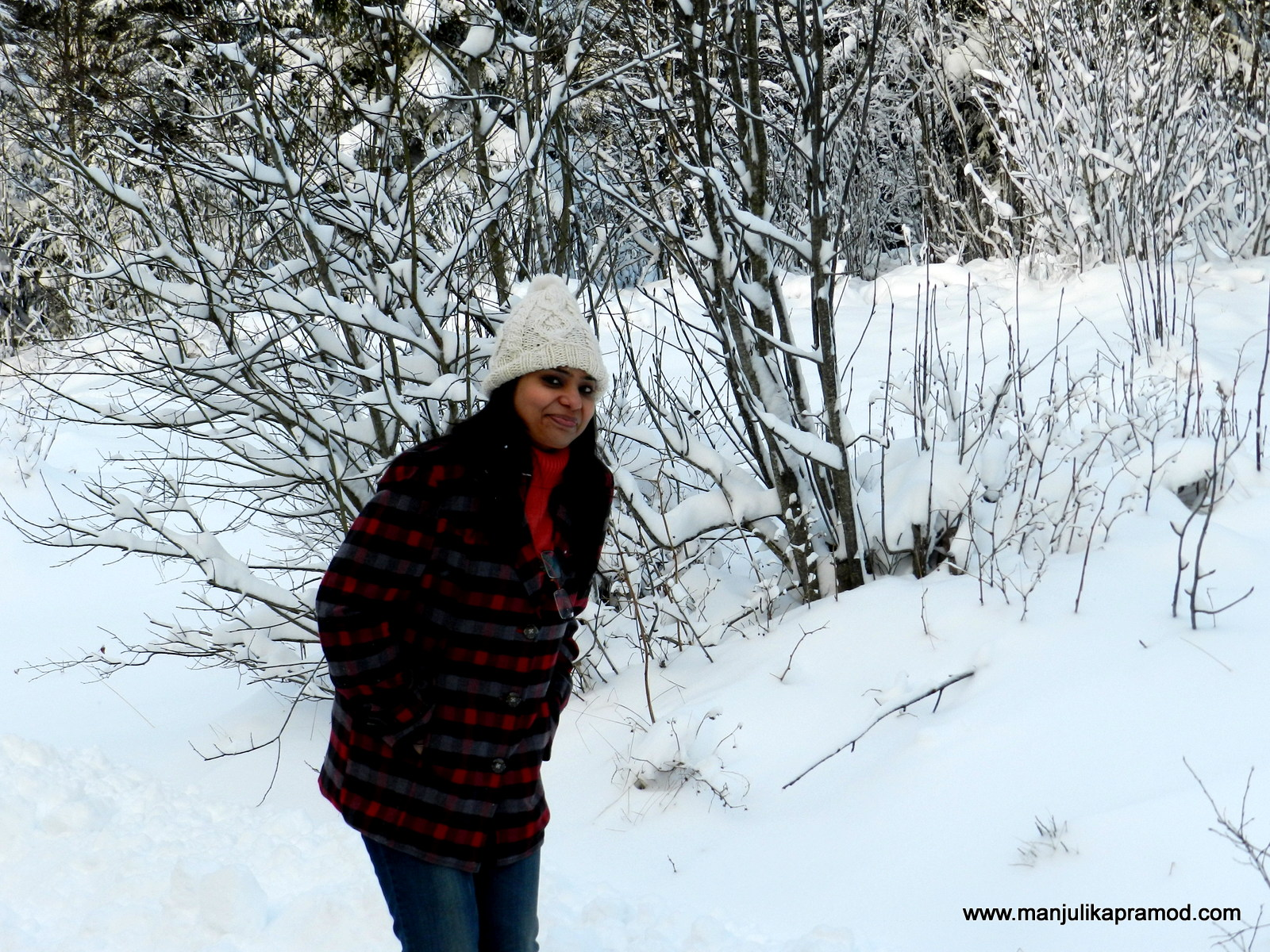 Having fun in Winters Snow in Oslo