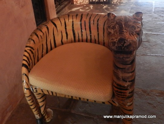 The Tiger chair