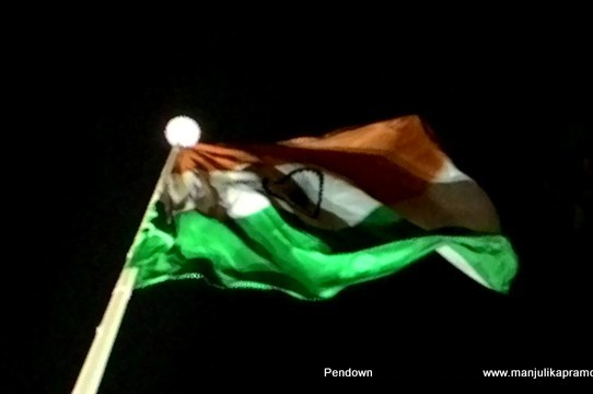 Highest Indian Flag at Faridabad , Sector 12 at Town Park