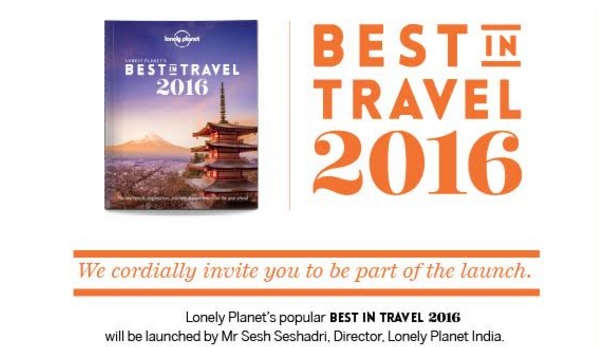 Lonely Planet, Launch, Book, 2016