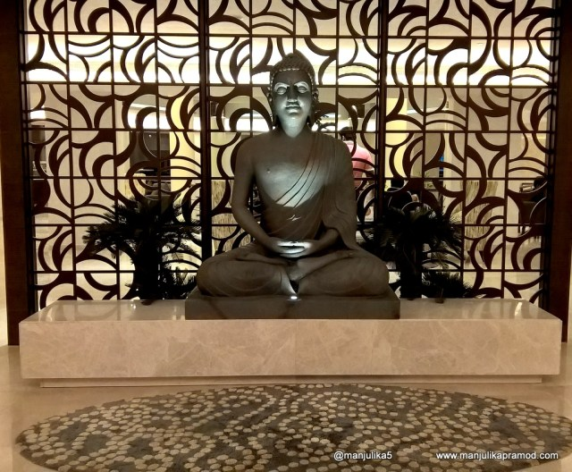 Novotel Imagica, Statue of Gautam Buddha, Beautiful hotel in Mumbai, Fun and entertainment for children