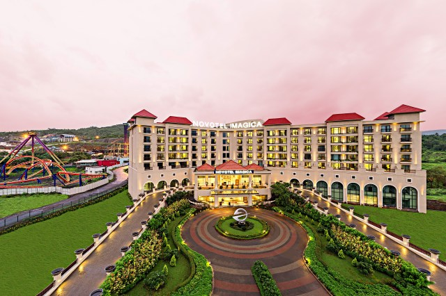 Novotel Imagica Khopoli is beautiful