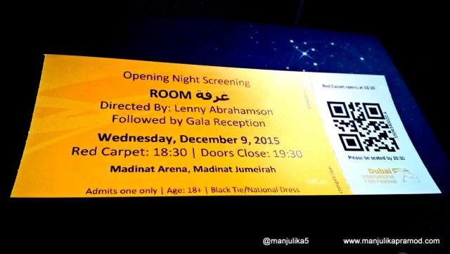 Opening Ceremony at Dubai International Film Festival