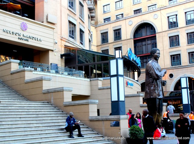 Nelson Mandela Square, Johannesburg, South Africa, Travel