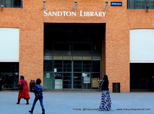 Sandton Library, Johannesburg