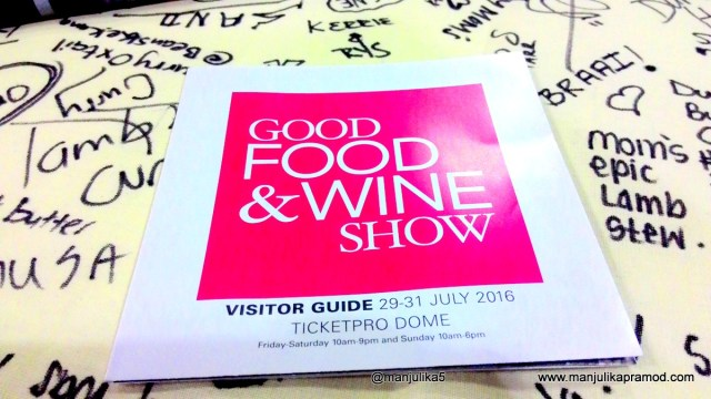 Good Food and Wine show, Johannesburg