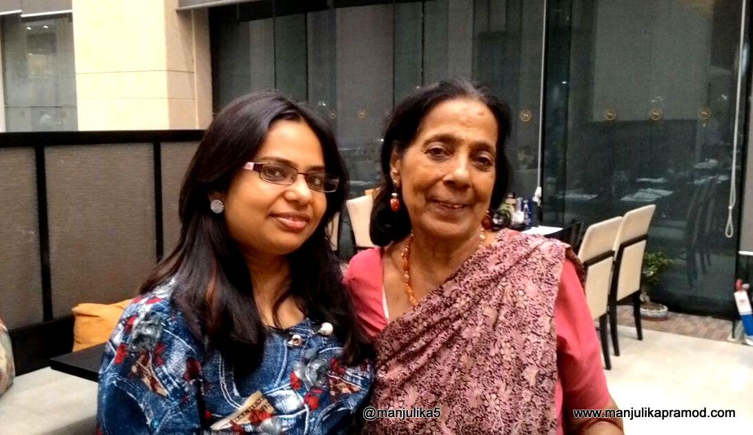 With Persian scholar and food historian Salma Husain